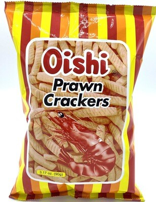 Oishi Prawn Crackers 3.17 Oz 90g