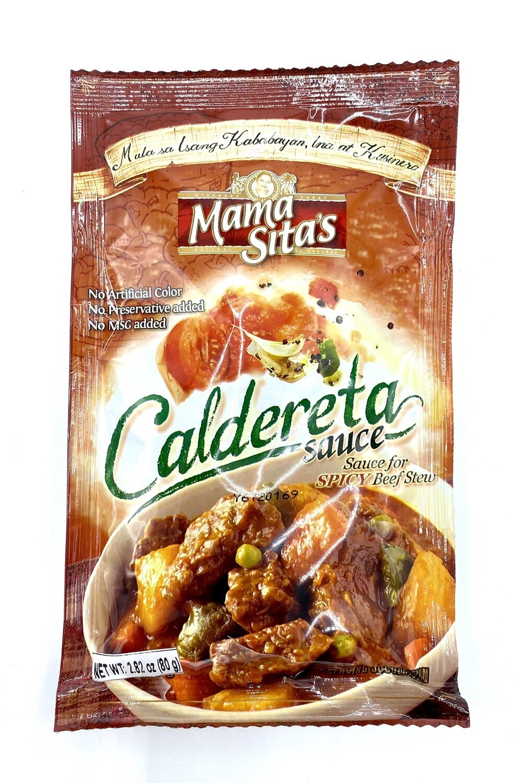 Mama Sita's Caldereta Sauce 2.82 Oz 80 Grams