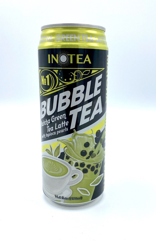 Inotea Bubble Tea Matcha Green Tea Latte 16.6 fl oz
