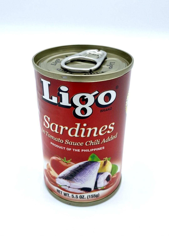 Ligo Sardines Red 5.5 oz