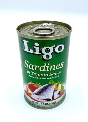 Ligo Sardines Green 5.5 oz