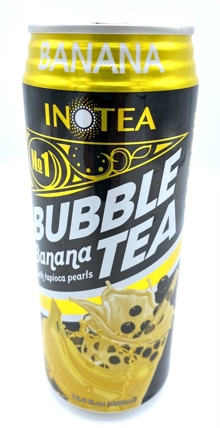 Inotea Bubble Tea Banana 16.6 fl oz