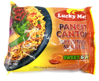 Lucky Me Pancit Canton Sweet And Spicy 2.12 Oz