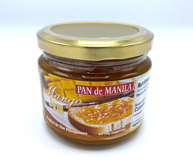 Pan de Manila Mango Jam 310 ml
