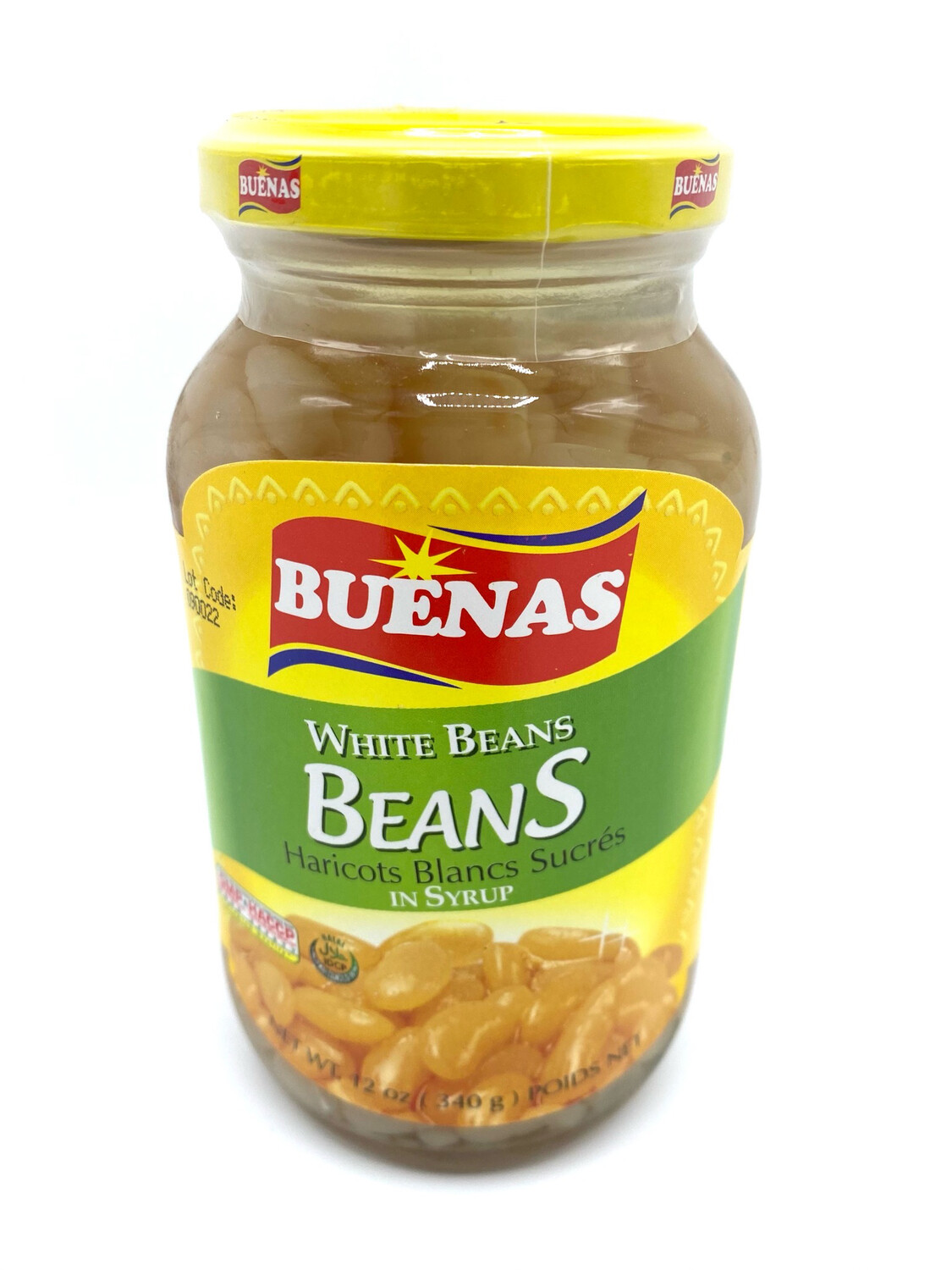 Buenas White Beans In Syrup 12 oz