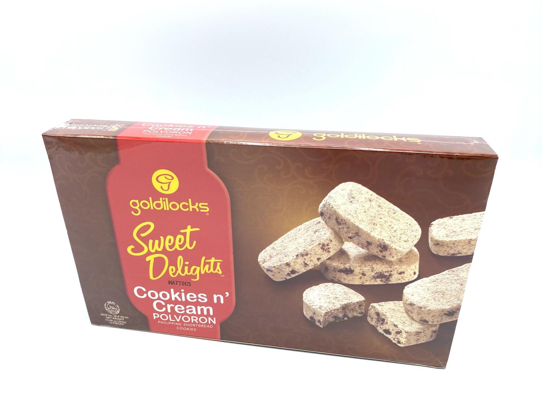 Goldilocks Polvoron Cookies N' Cream