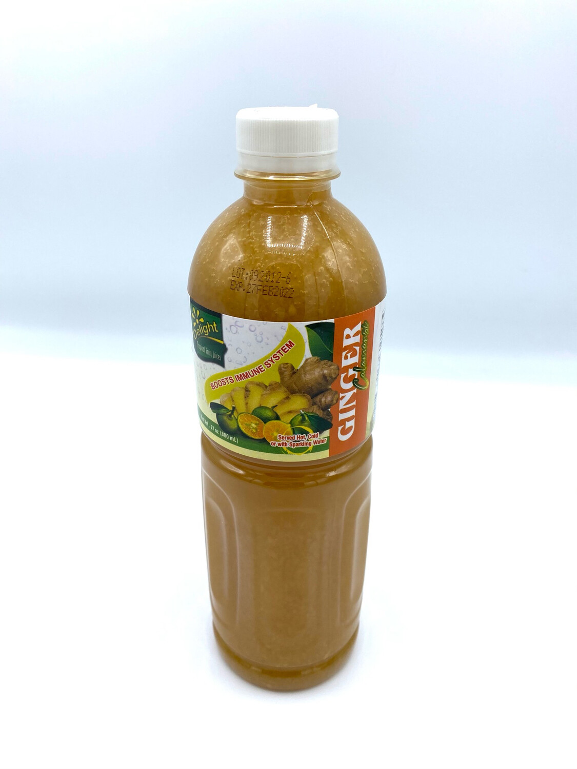 Kalamansi With Ginger Delight Concentrate 27 oz