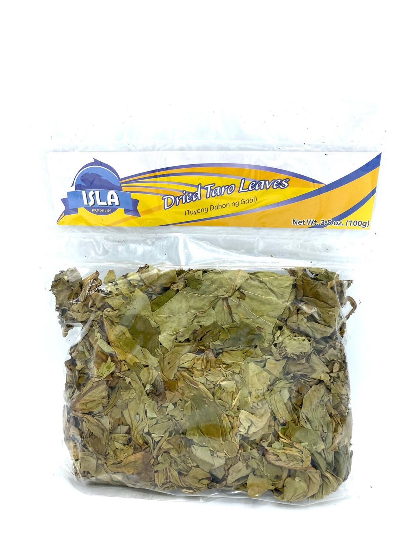 Isla - Dried Taro Leaves - 100 Grams