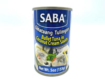 Saba Ginataang Tulingan 5 Oz
