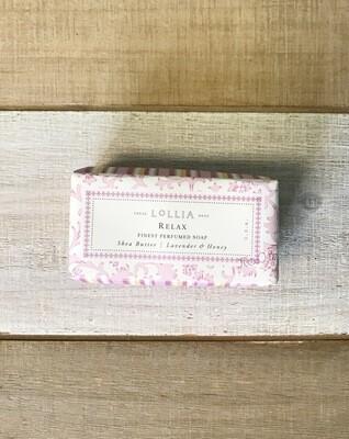 Lollia Relax Shea Butter Soap