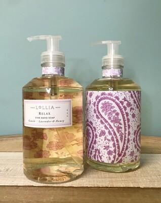 Lollia Relax Liquid Hand Soap
