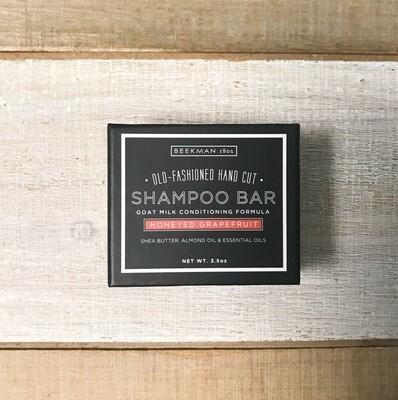Beekman Honeyed Grapefruit Shampoo Bar