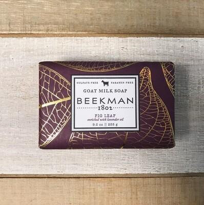 Beekman Bar Soap Fig Leaf 9oz
