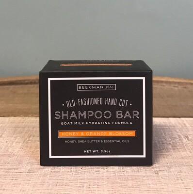 Beekman Honey And Orange Blossom Shampoo Bar