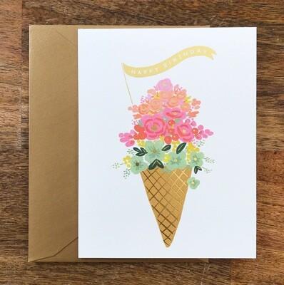 Rifle Paper Co. Card Ice Cream Birthday
