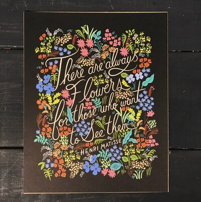 Rifle Paper Co. Print Matisse Quote