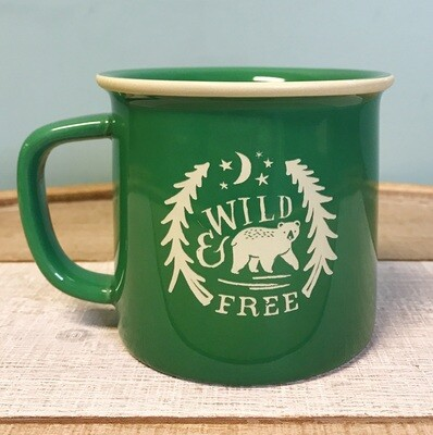 Mug Wild And Free