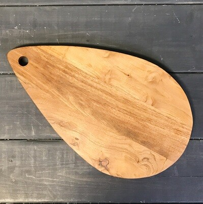 Tray/Cutting Board Acacia Wood Teardrop