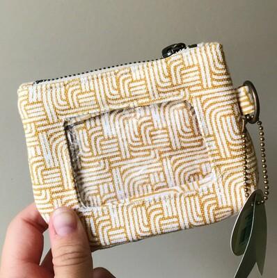 Id Wallet Gold Stripe