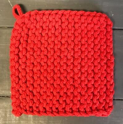 Pot Holder Parker Knit Red