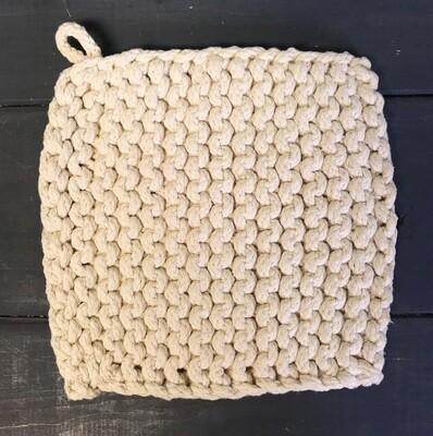 Pot Holder Parker Knit Natural