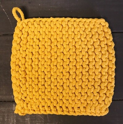 Pot Holder Parker Knit Yellow