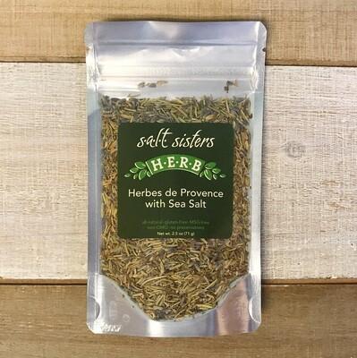 Herbes de Provence with Sea Salt