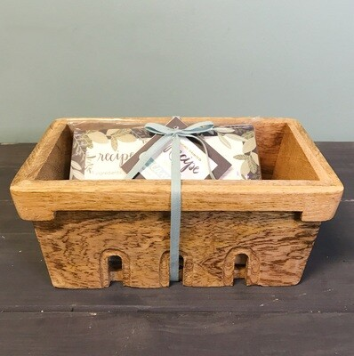 Recipe Box Berry Basket