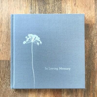 Book In Loving Memory