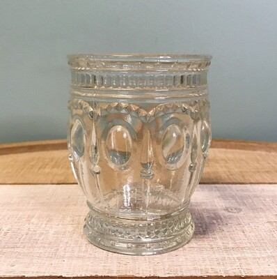 Drinking Glass Embossed