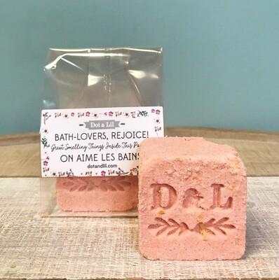 Dot & Lil Honeysuckle Milk Bath Cube