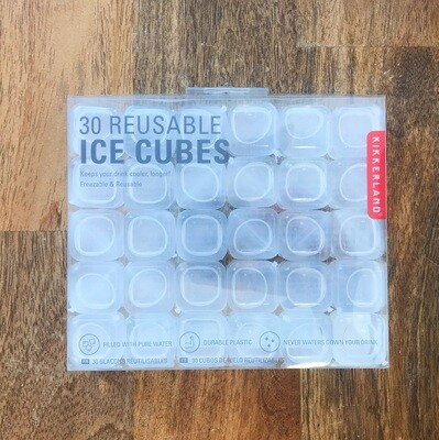 Ice Cubes Clear Reusable