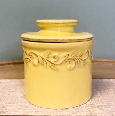 Butter Bell Crock Goldenrod