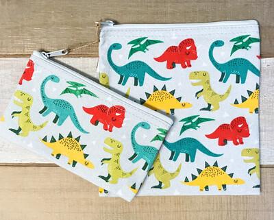 Snack Bag Set Of 2 Dandy Dinos