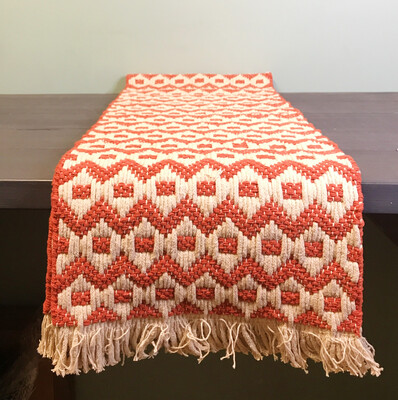 Table Runner Heirloom Clay 72