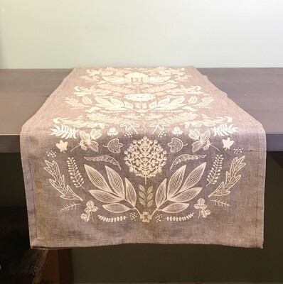 Table Runner Laurel Print