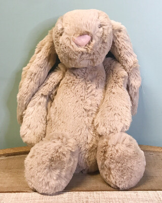Stuffed Bashful Beige Bunny