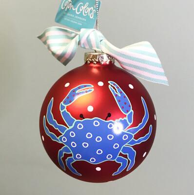 Ornament Blue Crab