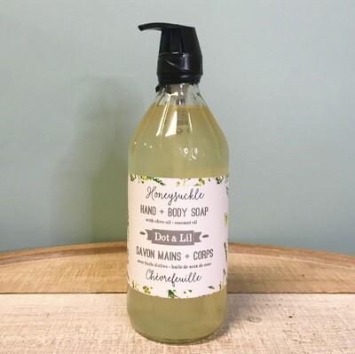 Dot & Lil Honeysuckle Liquid Soap
