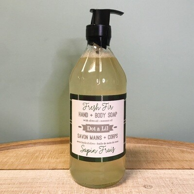 Dot & Lil Fresh Fir Liquid Soap