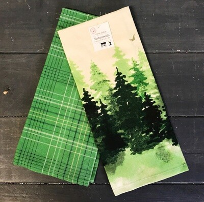 Towel Set/2 Woods