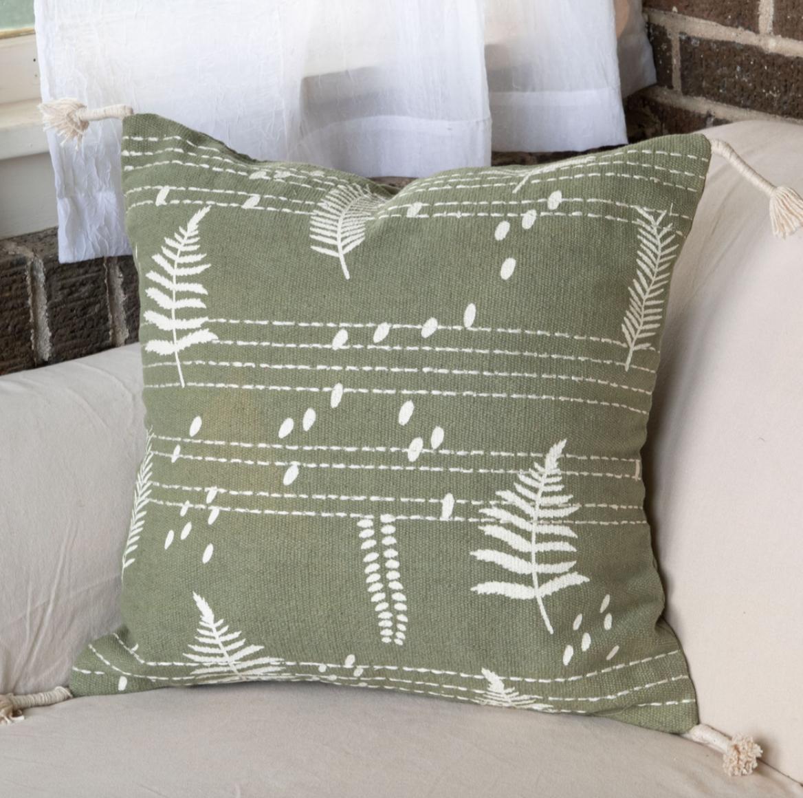 Pillow Hand Woven 18x18