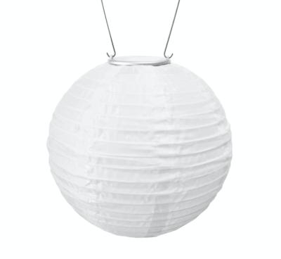 "Solar Lantern Round Soji Original White 10"""