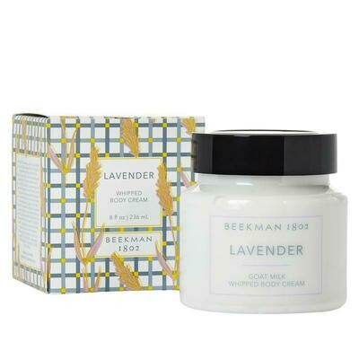 Beekman Lavender Whipped Body Cream 8oz