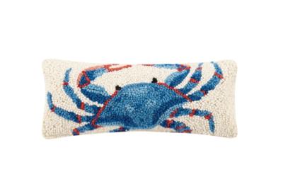 Pillow Blue Crab 12x5