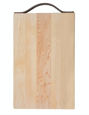 Killington Maple Board With Leather Handle