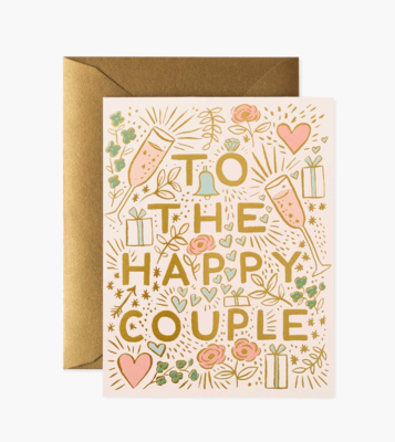 Rifle Paper Co. Card To The Happy Couple