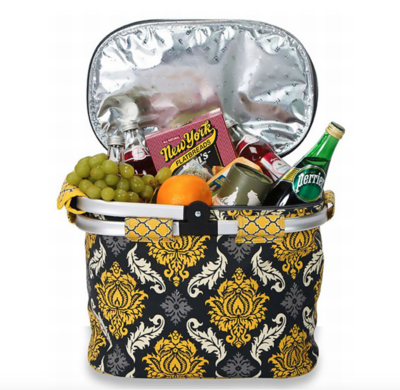 Collapsible Cooler Tote Provence Flair