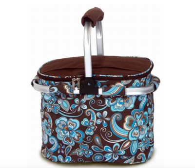Collapsible Cooler Tote Cocoa Cosmo