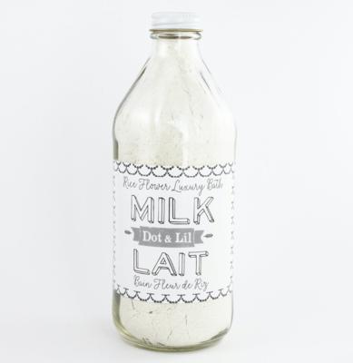 Dot & Lil Rice Flower Milk Bath